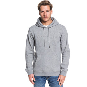 Quiksilver Emboss Hoodie Herren medium grey heather